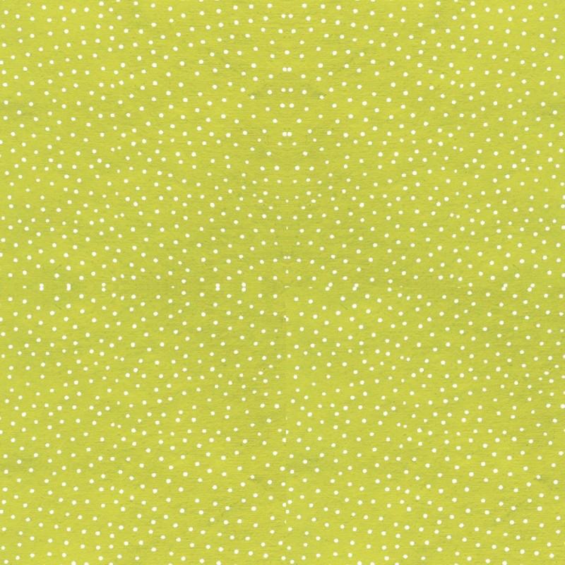 papier fantaisie papier motifs raidana vert anis point blanc. Black Bedroom Furniture Sets. Home Design Ideas