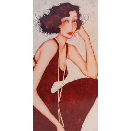 Carte postale Corinne Reignier zelda