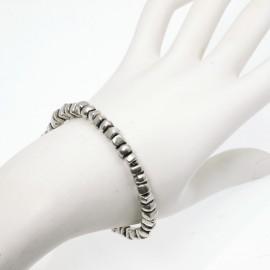 Bracelet fantaisie Ubu élastique carrés