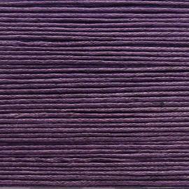 Cordon ciré coton lilas fonce 1mmx20m