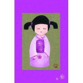 Carte postale Les Ours de Sissi Kokeshi