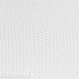 papier-skivertex-cuir-lezard-blanc-papier-cartonnage-meuble-carton