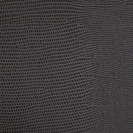 Papier Skivertex simili cuir lézard gris moyen