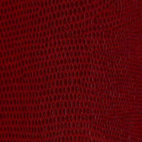 papier-skivertex-cuir-lezard-rouge-papier-cartonnage-meuble-carton