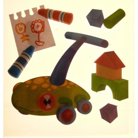 Stickers adhésifs jouet d'enfant
