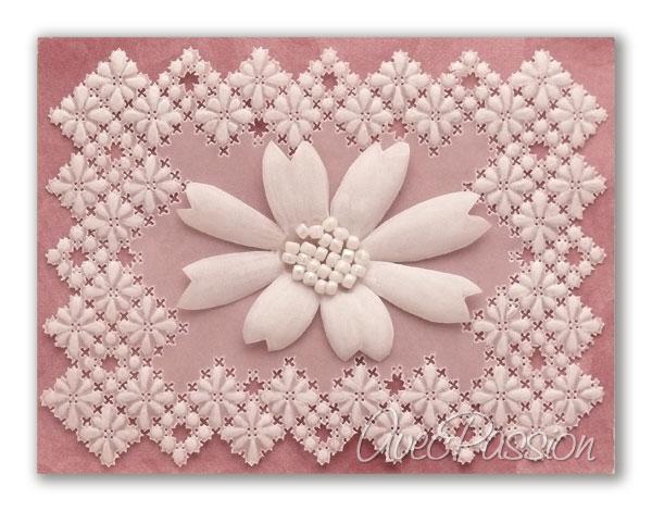 modèles Pergamano dentelle de papier