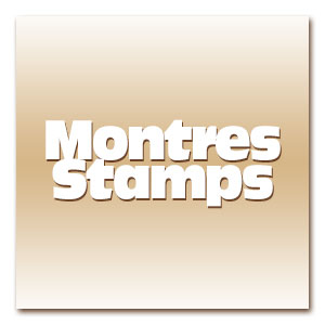 Montre stamps pas cher