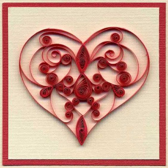 paper craft ideas for valentines day le quilling ou paperolle ou du papier roul 233 7858