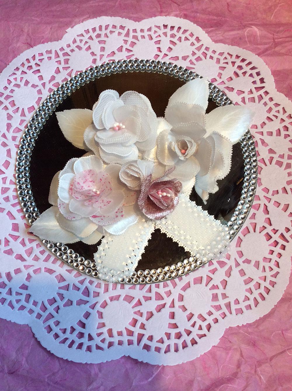 fleurs en pergamano